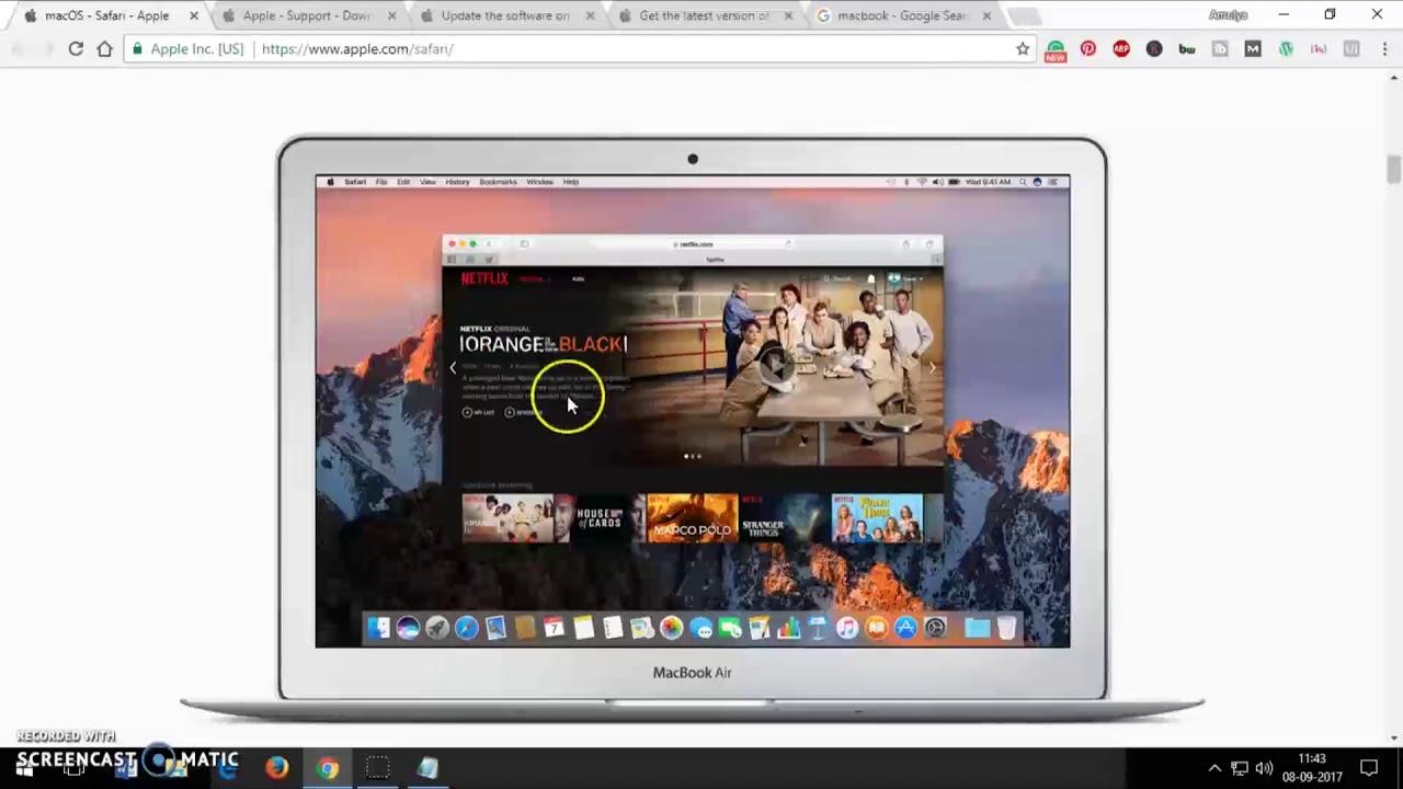 Download Most Recent Version Of Safari For Mac