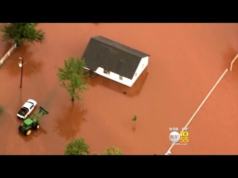 Severe Weather Tears Through Parts Of Texas And Oklahoma