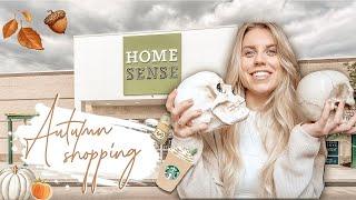 HOMESENSE & IKEA AUTUMN HOMEWARE SHOPPING VLOG & HAUL