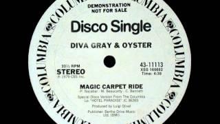 "DIVA GRAY & OYSTER  - magic carpet ride - 12"" mix"