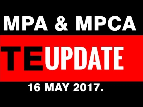 MPA & MPCA - Traffic Exchange UPDATE 16 May 2017.