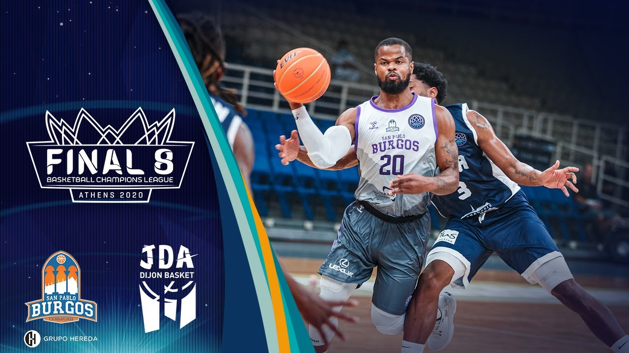 Hereda San Pablo Burgos v JDA Dijon - Full Game - Semi Finals - Basketball Champions League 2019