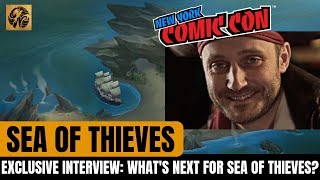 Exclusive Sea of Thieves Interview with Joe Neate NYCC 2018 // New Info! #SeaofThieves News