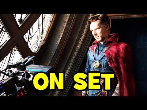DOCTOR STRANGE B-Roll - Benedict Cumberbatch, Tilda Swinton, Mads Mikkelsen (SPOILERS!)