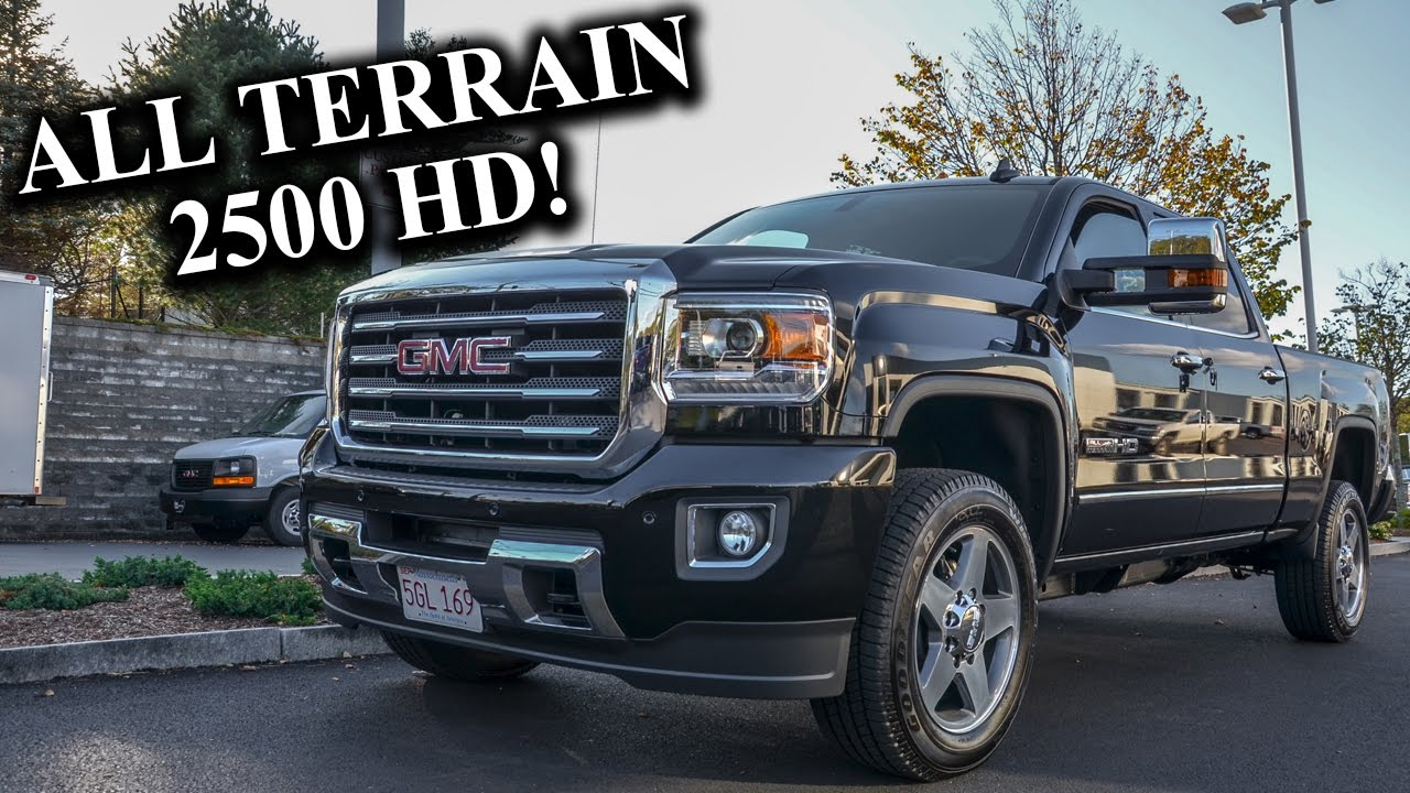 2016 Gmc Sierra 2500 All Terrain Hd Quick Look