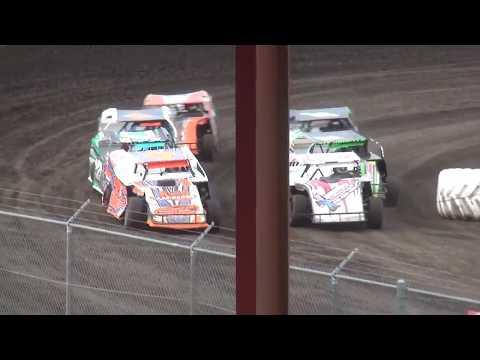 IMCA Sport Mod Heat 1 Benton County Speedway 6/9/19
