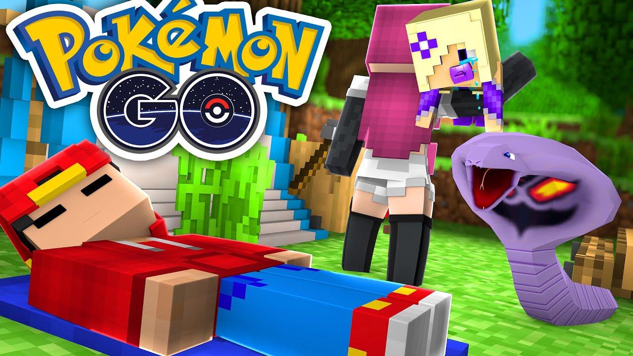 Minecraft Pokemon Go TEAM ROCKET CAPTURE BABY ANGEL