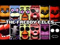 The Freddy Files - All Jumpscares / Extras / Easter Eggs