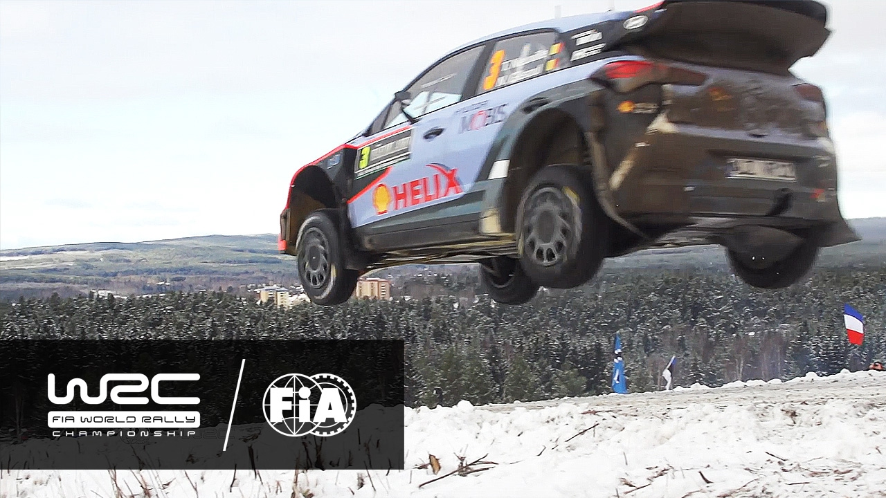 WRC Rally Sweden TEASER YouTube - Rally sweden map 2016