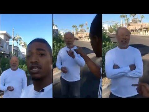 "Racist Asian Man Tells Black Man ""This is a No Ni**er Zone."""