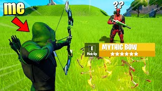 I Pretended to be GREEN ARROW in Fortnite