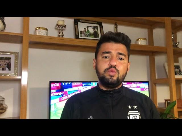 Análisis del empate de la Argentina ante Chile  ¿cuál es tu podio? El Mío Romero, Messi y De Paul.