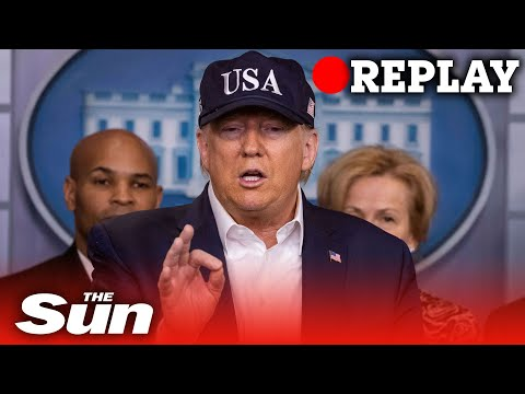President Trump on measures to stop the spread coronavirus - Replay