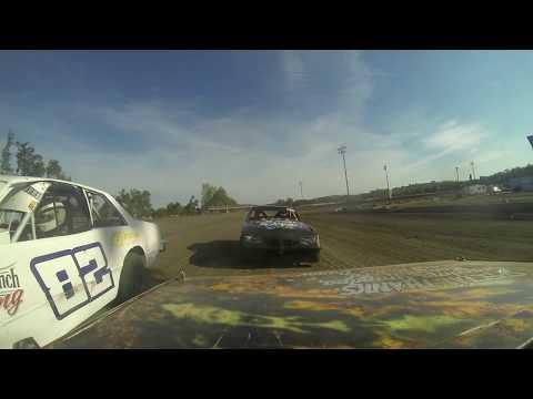 Riese Dignan Heat Race On-Board @ Nodak Speedway (7/4/17)