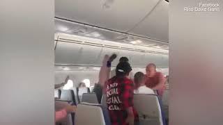 شاهد .. مشاجرة تجبر طائرة ركاب على قطع رحلتها والعودة إلى أستراليا
