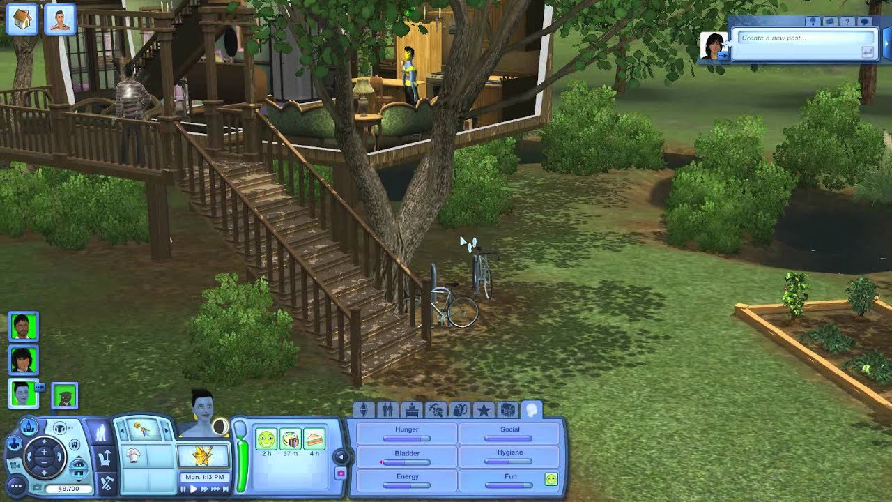 Sims 3 Supernatural Fairy House