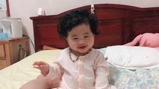 Sunny 7 tháng tuổi + ! Em bé 7 tháng tuổi làm được những gì?!