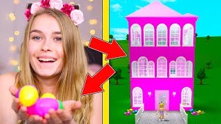 Easter Eggs Decide What I Build In Bloxburg! (Roblox)