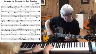Between the Devil and the Deep Blue Sea - Jazz guitar & piano cover ( Harold Arlen )