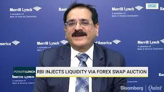 BofAML's Jayesh Mehta On RBI's Forex Swap Auction