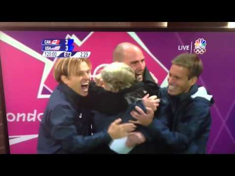 Alex Morgan Olympic Goal vs. Canada 2012