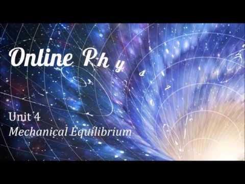 Unit 4 Lesson 3: Mechanical Equilibrium