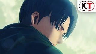 ゲーム『進撃の巨人』PV第2弾 2016年2月発売予定!