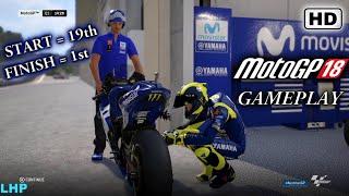 MotoGP 18 Gameplay PS4 / PC Valentino Rossi | GP Austria
