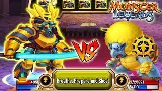 🔴TOSHIRO 130 vs iM¡gb0 130 ◕‿◕ - Monster Legends