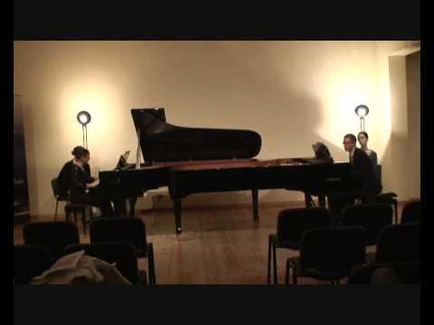 Prokofiev - Cinderella (5/5 Finale) - Macha Kanza and Matthieu Cognet, pianos