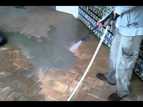 C mo limpiar un suelo de barro youtube - Limpiar suelos de barro ...