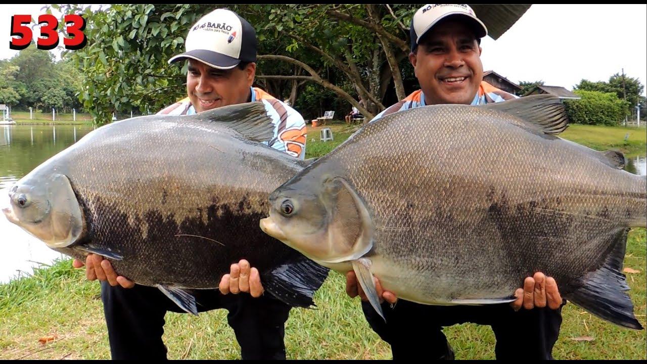 Santa Rita - Muitos Tambas e Pirararas - Fishingtur na TV 533