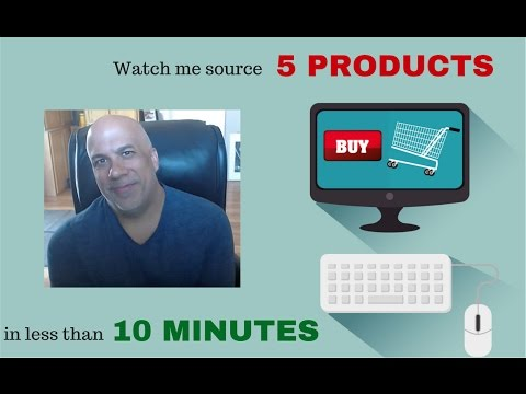 Watch me source 5 products in under 10 minutes (Q4 online arbitrage)