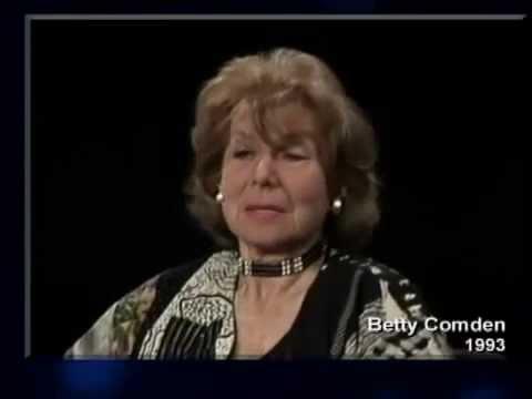 Remembering Betty Comden