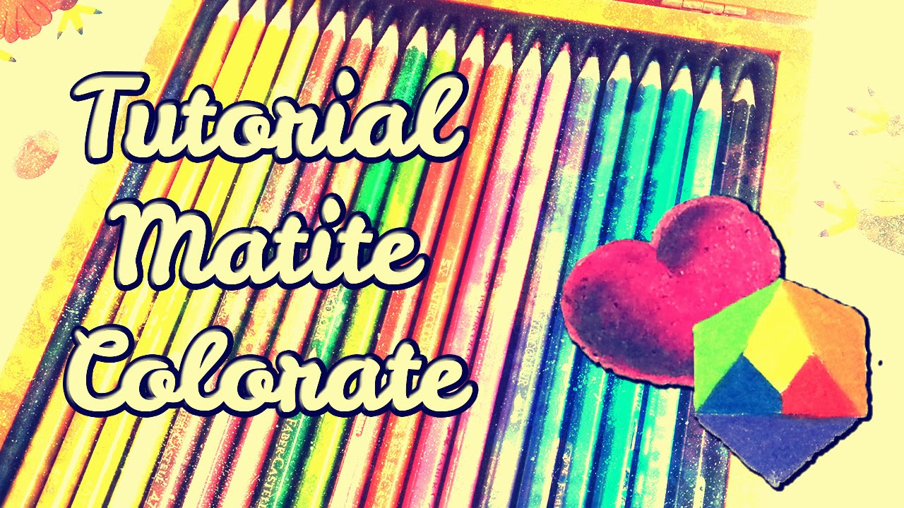 Come Colorare Con Le Matite Colorate Tutorial Di Disegno Per