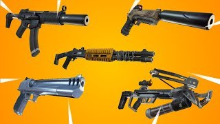 Reviewing All Of The MILITARY WEAPONS In Fortnite! GAMEPLAY