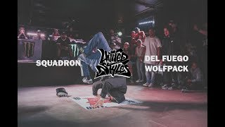 Squadron Vs Del Fuego Wolfpack | Top 8 | United Styles 2018 | Pro Breaking Tour | BNC