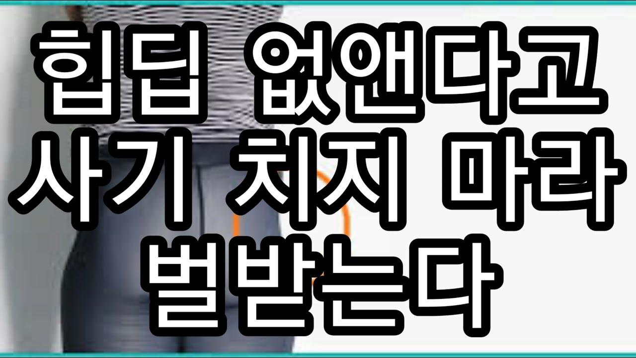 힙딥의 진실 엉덩이 운동 유튜브 인스타 사기꾼들 사기 치지 마라