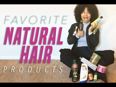 My Favorite Natural Hair Products | 2016