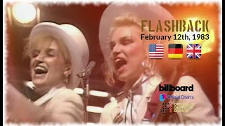 Flashback - February 12th, 1983 (US, German & UK-Charts) Video