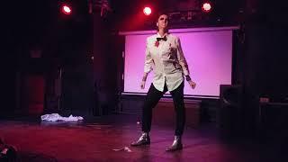 Alice Cooter Drag King performing at Die Felicia: Kings of Horror