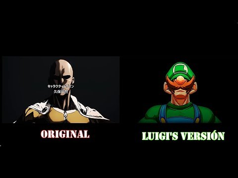 One Punch Man Op | Luigi's version vs Original HD