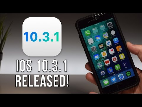 iOS 10.3.1 RELEASED - What's New? (Major Security Update)