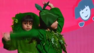 Performance on Pyare Panchi Baahon Mein pe by 9 Kids Students