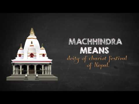 Infographic On Rato Machhindranath Temple, Nepal Motion Graphic