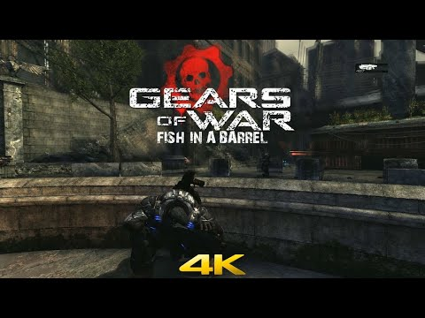 Gears Of War Act 1 Fish In A Barrel 4K