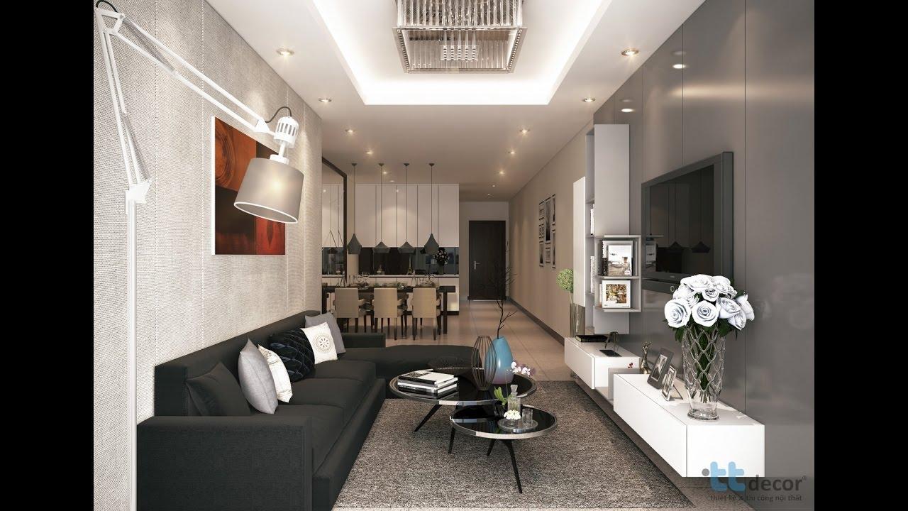 Thiết kế thi công nội thất căn hộ Hoàng Anh Thanh Bình quận 7