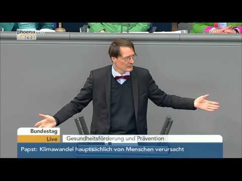 Bundestag: Gesundheitsförderung und Prävention am 18.06.2015