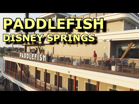 Paddlefish - NEW at Disney Springs - Chef Mark Boor - Walt Disney World Florida - Seafood & More