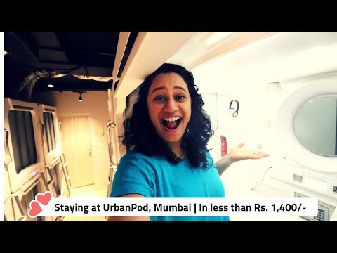 Staying In India's First Pod Hotel | Under Rs1400 | Urbanpod